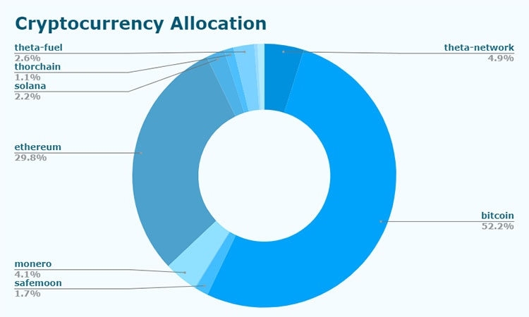 Cryptocurrency allocation
